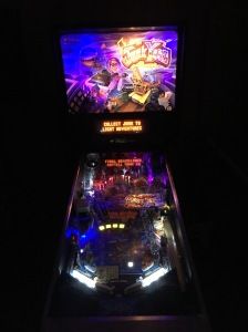 Completed LED conversion on Junk Yard Pinball Machine.