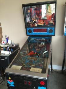 1992 Bram Stoker's Dracula Pinball Machine.