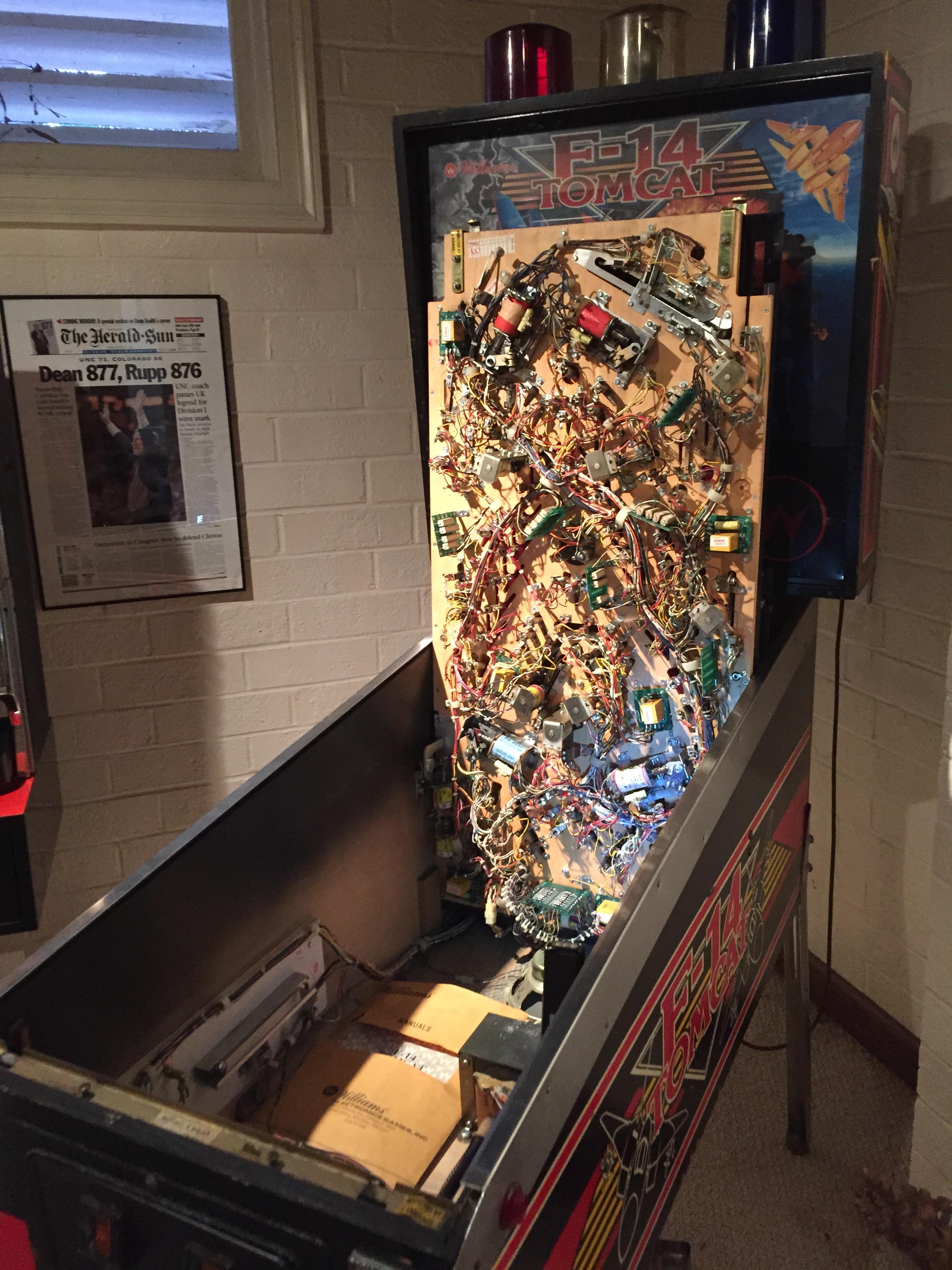pinball machine repair service