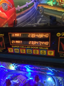 Working display, nice to be back. Look at those nice high scores by MAT :)