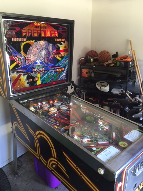 1980 Williams Firepower Light Restoration | Carolina Pinball